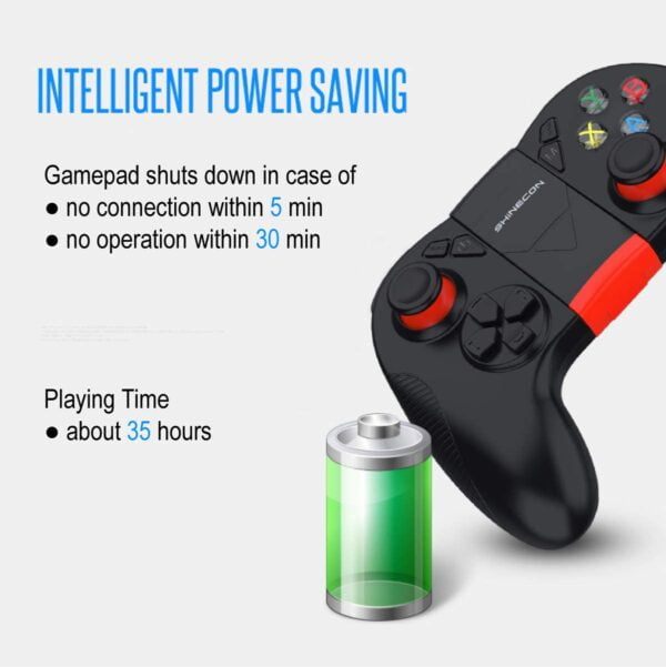 VR Shinecon Wireless Game Controller Gamepad for Android Smartphone Tablet TV Box PC Windows