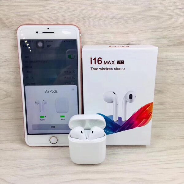 i16 MAX TWS Wireless Bluetooth Earphones
