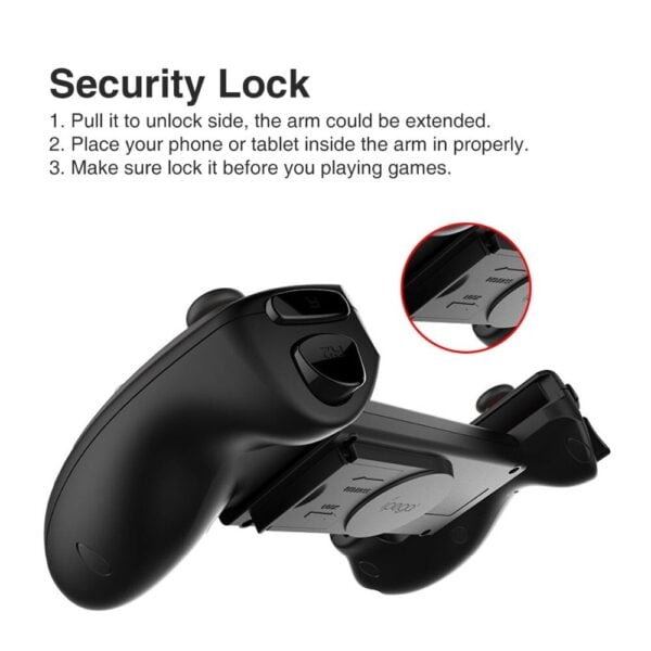 iPega PG-9083s Wireless Bluetooth Gamepad Practical Stretch Long Expansion