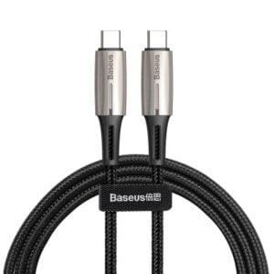 Baseus CATSD-J01 TypeCtoTypeC PD2.0 60W Flash Cable 3A 1m (Black)