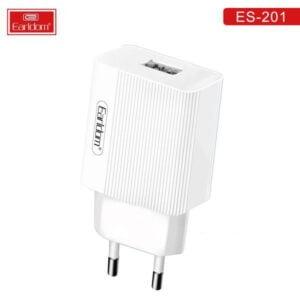 დამტენი ადაპტერი+კაბელი – Earldom ES-201 With Micro USB