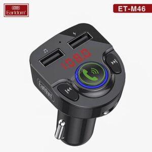 Earldom ET-M46 Wireless Car MP3+Charger- FM მოდულატორი