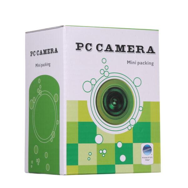 PC CAMERA MINI PACKING Web Cam Resolution: 640 x 480- კომპიუტერის ვებ-კამერა მიკროფონით