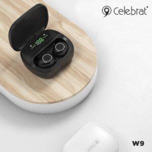CELEBRAT TWS-W9 Wireless Earphones Wireless Earbuds Bluetooth